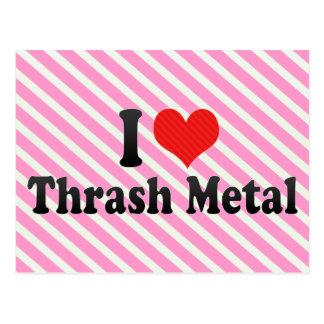 I Love Thrash Metal Post Cards