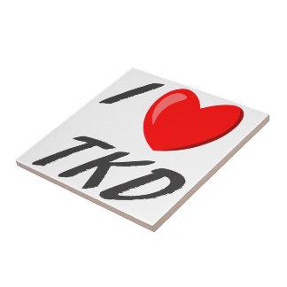 I Love TKD Tile