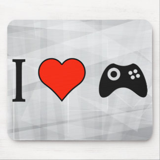I Love To Play Video Games Mouse Pad