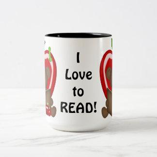 I Love To Read coffee mug