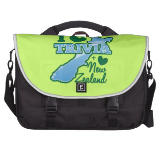 I love TRIVIA an I Love New Zealand Bags For Laptop