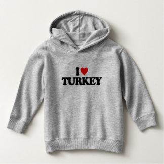I LOVE TURKEY HOODIE