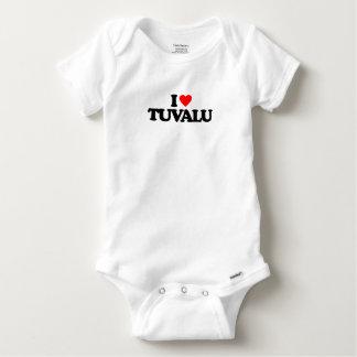 I LOVE TUVALU BABY ONESIE