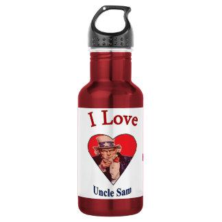 """I Love Uncle Sam"" 532 Ml Water Bottle"