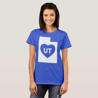I Love Utah State Women's Basic T-Shirt