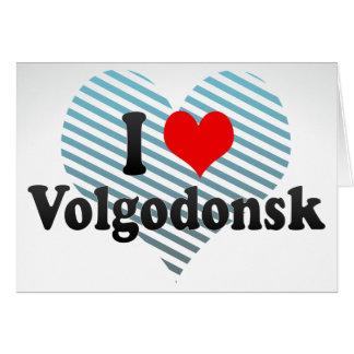 I Love Volgodonsk, Russia Card