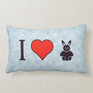 I Love Watching Bugs Bunny Lumbar Cushion