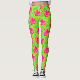 I Love Watermelon Leggings
