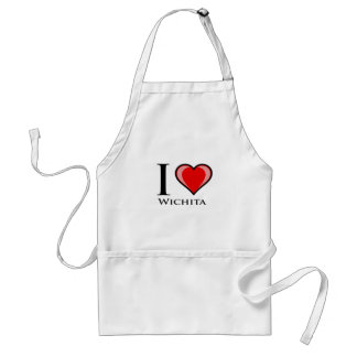 I Love Wichita Standard Apron