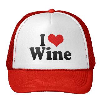 I Love Wine Cap