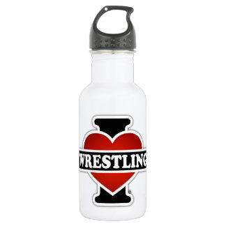 I Love Wrestling 532 Ml Water Bottle