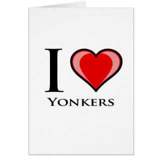 I Love Yonkers Card