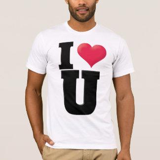 I Love You2 Black T-Shirt