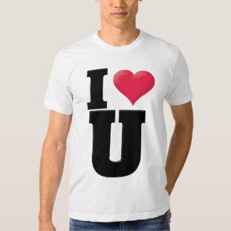 I Love You2 Black Tshirts