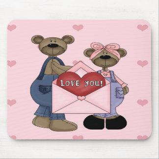 I Love You Bears Mousepad