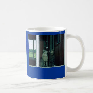 I love you! Cats Basic White Mug