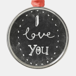 I Love you  chalk Ornament Lighthouse route