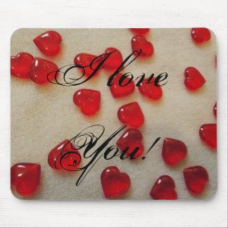 I Love You! Design Mousepad