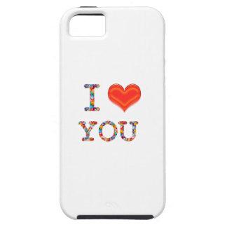 I LOVE YOU Elegant Script of Love n Romance GIFT Case For iPhone 5/5S