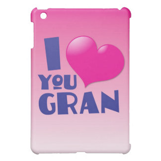 I love you Gran! iPad Mini Covers