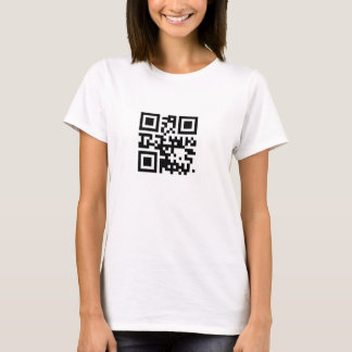 I LOVE YOU in QR code T-Shirt