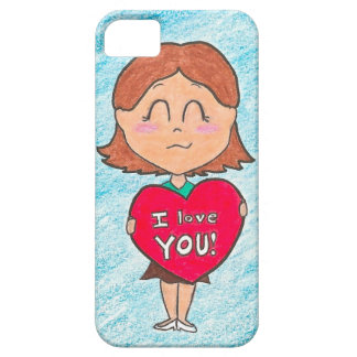 I Love You iPhone 5 Universal Case