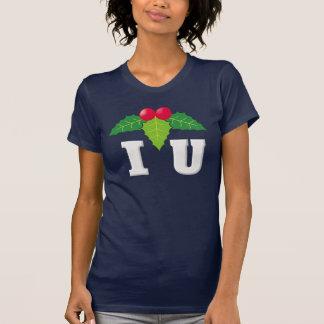I Love You/Mistletoe White T-Shirt