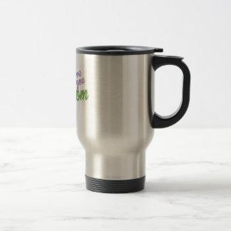 I Love You Mom Stainless Steel Travel Mug