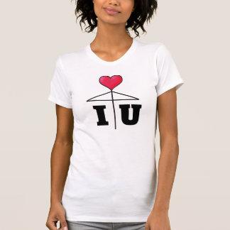 I love You/One Heart Love Umbrella/Mistletoe2 B T-Shirt