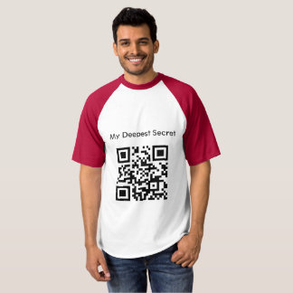 I Love You QR CODE T-Shirt