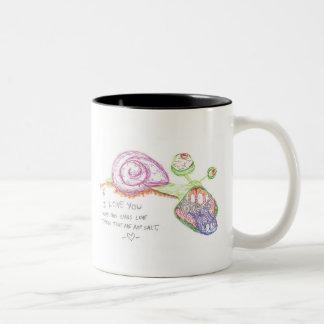 I Love You Snail Mug
