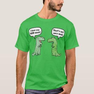 a0c5a8be7 I Love You This Much T Rex T-Shirts & Shirt Designs | Zazzle.co.nz