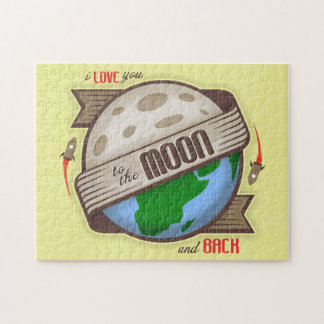 I Love You To The Moon And Back - Puzzle