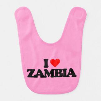 I LOVE ZAMBIA BIB