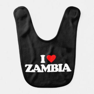 I LOVE ZAMBIA BIBS