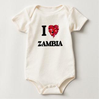 I Love Zambia Bodysuit