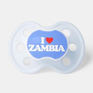 I LOVE ZAMBIA BABY PACIFIER