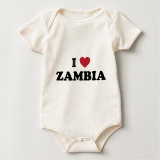 I Love Zambia Bodysuits