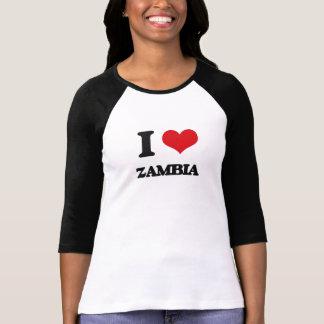 I Love Zambia Shirt