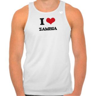 I Love Zambia Tshirt