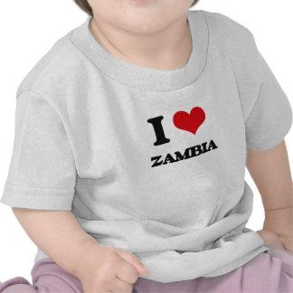 I Love Zambia Tees
