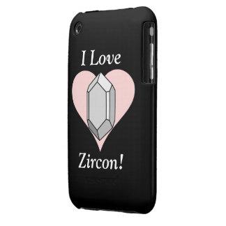 I Love Zircon! Case-Mate iPhone 3 Cases