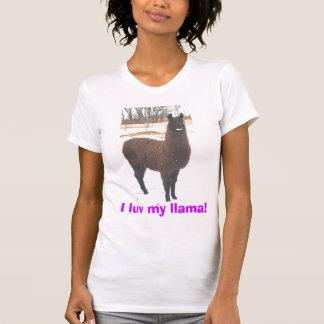 I luv my llama! tee shirt