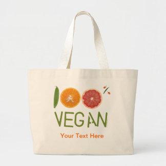 """I""""m 100% Vegan Tote Bag"""