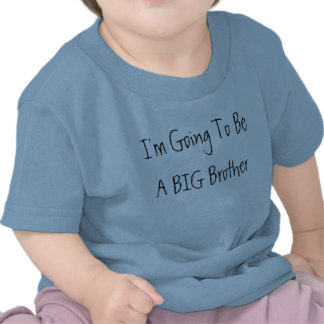 I m Going To Be A BIG Brother T Shirt