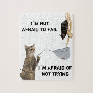 I´m not afraid to fail... jigsaw puzzle