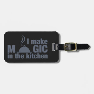 I Make Magic custom luggage tag