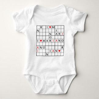 I♥MARIANO BABY BODYSUIT