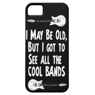 I may be old, cool bands! iPhone 5 cases
