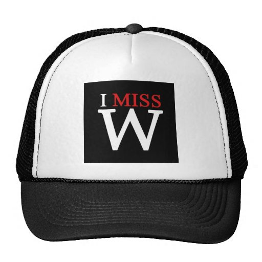 i MISS W! Mesh Hat